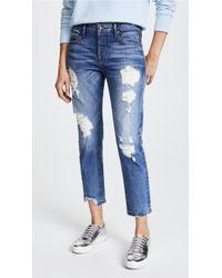 Tortoise   Savanna Cropped Slim Straight Jeans   Lyst