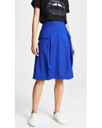 Paskal - Mid Length Skirt With Pockets - Lyst