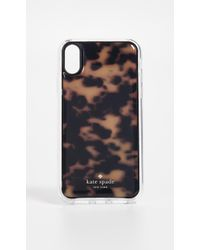 Kate Spade - Tortoise Shell Hands Free Iphone Xs Case - Lyst