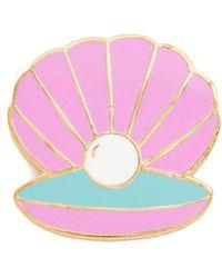 Georgia Perry - Clam Lapel Pin - Lyst