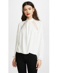 Ramy Brook - Makenna Blouse - Lyst