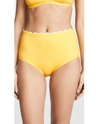 Kate Spade - Fort Tilden High Waisted Bikini Bottoms - Lyst