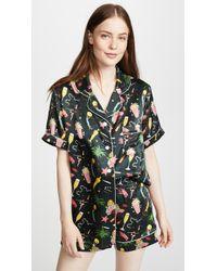 Karen Mabon - Hollywood Short Sleeve Pajama Set - Lyst