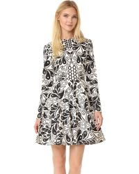 Holly Fulton - Kiki Long Sleeve Dress - Lyst