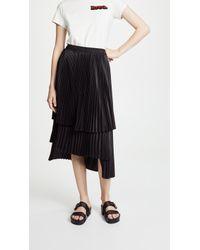 CLU - Pleated Skirt - Lyst