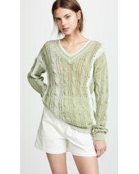 Nina Ricci - V Neck Sweater - Lyst