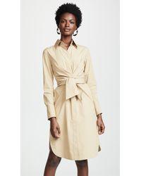 Edition10 - Tie Waist Shirtdress - Lyst