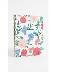 Kate Spade - Blossom Large Spiral Notebook - Lyst