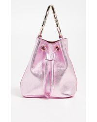 Maison Boinet - Small Two Ring Bucket Bag - Lyst