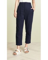 AG Jeans - Yasmeen Trousers - Lyst