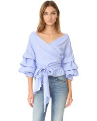 One By - Modern Vintage Top - Lyst
