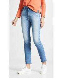 AG Jeans - The Sophia Ankle Jeans - Lyst