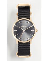 Nixon - Porter Nylon Watch, 40mm - Lyst