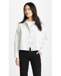 Vince - Cropped Utility Jacket - Lyst