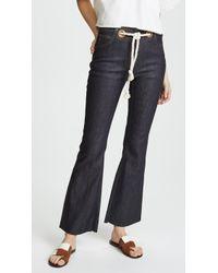 Miaou - Morgan Flare Jeans - Lyst