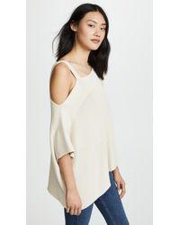 Ella Moss | Mara Asymmetrical Sweater | Lyst