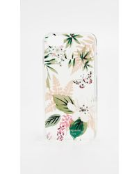 Kate Spade - Botanical Clear Iphone 8 Case - Lyst