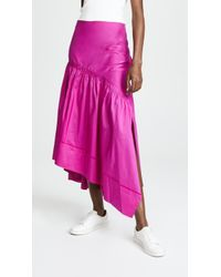 3.1 Phillip Lim - Shirred Skirt - Lyst