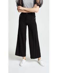 Boutique Moschino - Wide Leg Trousers - Lyst
