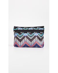 LeSportsac - Taylor Large Top Zip Cosmetic Case - Lyst