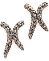 Maha Lozi - Xo Earrings - Lyst