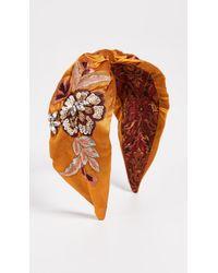NAMJOSH - Pumpkin Floral Headband - Lyst