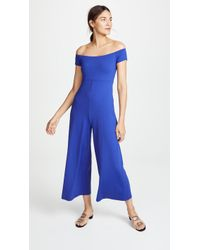 Susana Monaco - Off Shoulder Jumpsuit - Lyst