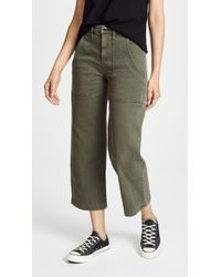 Hudson Jeans - Midrise Straight Crop Cargo Trousers - Lyst