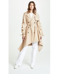 Jonathan Simkhai - Tucked Sleeve Trench Coat - Lyst