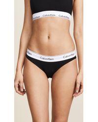 CALVIN KLEIN 205W39NYC - Modern Cotton Bikini Briefs - Lyst
