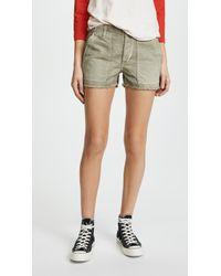 AMO - Army Shorts - Lyst