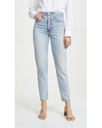 Joe's Jeans - X We Wore What Danielle High Rise Straight Jeans - Lyst