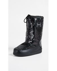 Moschino - Love Sequin Snow Boots - Lyst