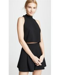 16c85bc79a2 Lyst - Women s Black Halo Playsuits On Sale