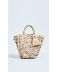 Hat Attack - Petite Seagrass Tote Bag - Lyst