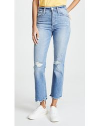 Mother - The Tripper Ankle Jeans - Lyst