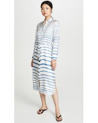 Theory - Belted Shirtdress - Lyst