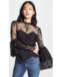 Cupcakes And Cashmere - Davey Lace Blouse - Lyst
