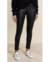 Helmut Lang - Stretch Leather Pants - Lyst