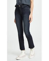 Mother The Rascal Ankle Snippet Jeans - Blue