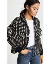 Cupcakes And Cashmere - Genesis Jacket With Fringe - Lyst