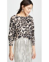 Loyd/Ford - Leopard Sweater - Lyst