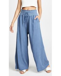 Free People - Mia Trousers - Lyst