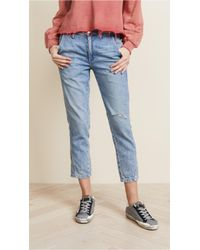 AMO - Slouch Trouser Jeans - Lyst