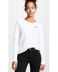 AMO - Loved Sweatshirt - Lyst