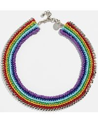 Venessa Arizaga - Chasing Rainbow Necklace - Lyst