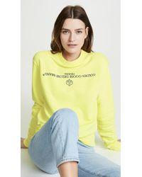 Golden Goose Deluxe Brand - Steffy Sweatshirt - Lyst