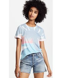 Sol Angeles - Amore Palm Rolled Tee - Lyst