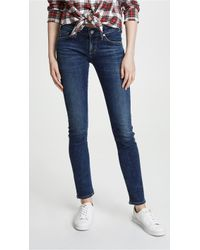 Citizens of Humanity - Racer Low Rise Skinny Jeans - Lyst