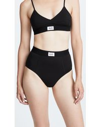 Les Girls, Les Boys - Jersey Mid Rise Briefs - Lyst